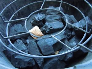 kolen en rookhout